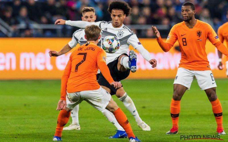 Onwaarschijnlijke terugkeer van Nederland tegen Duitsland
