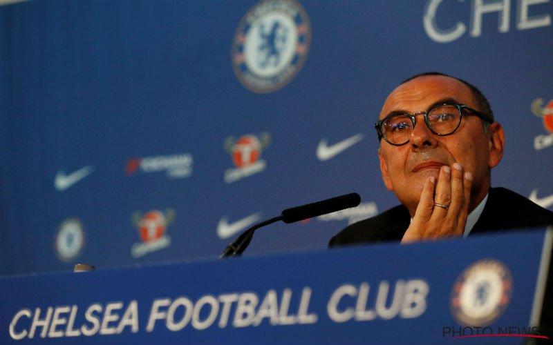 Chelsea-coach Sarri reageert op over vertrekwens van Hazard