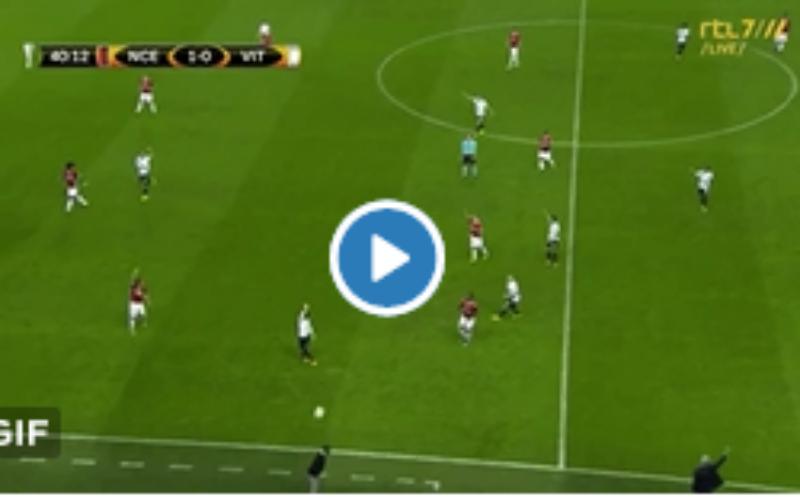 Vitesse-coach pakt uit met dit heerlijk hoogstandje tegen Essevee (Video)