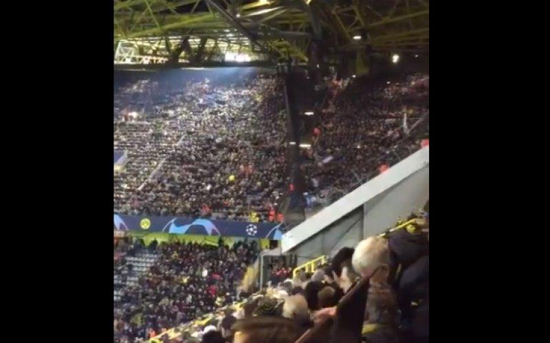 Brugse fans zetten Dortmund in vuur en vlam: 'Kippenvel-moment