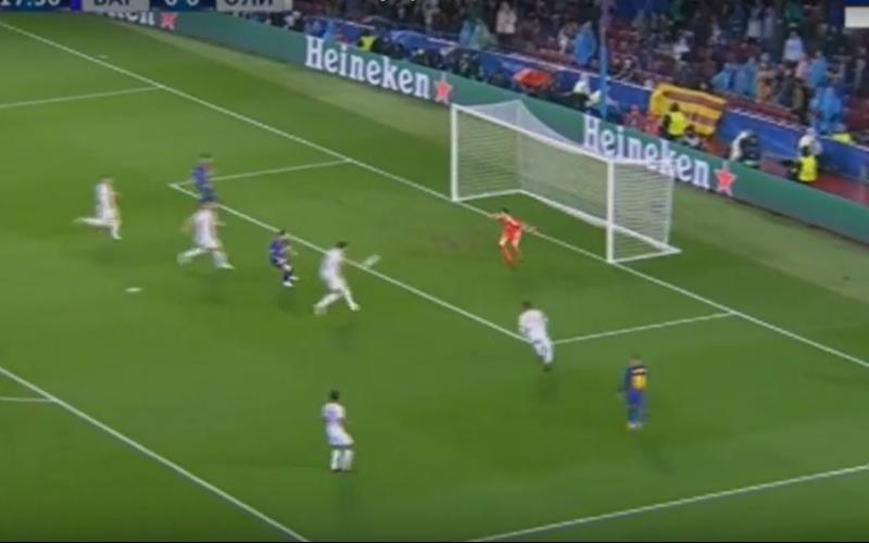 Proto krijgt dit enorm lullige doelpunt tegen van Barça (Video)