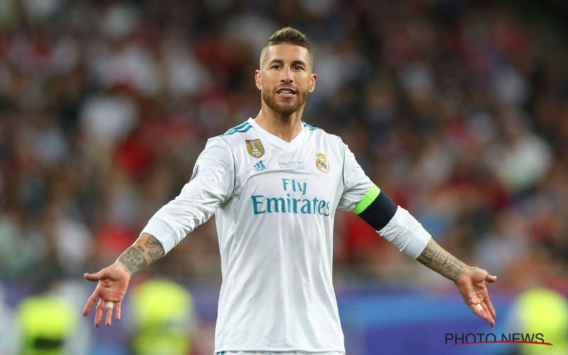 'Sergio Ramos mengt zich nu in transfersoap rond Eden Hazard'