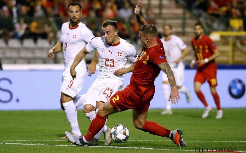 Topspelers Zwitserland onder indruk van Rode Duivel: