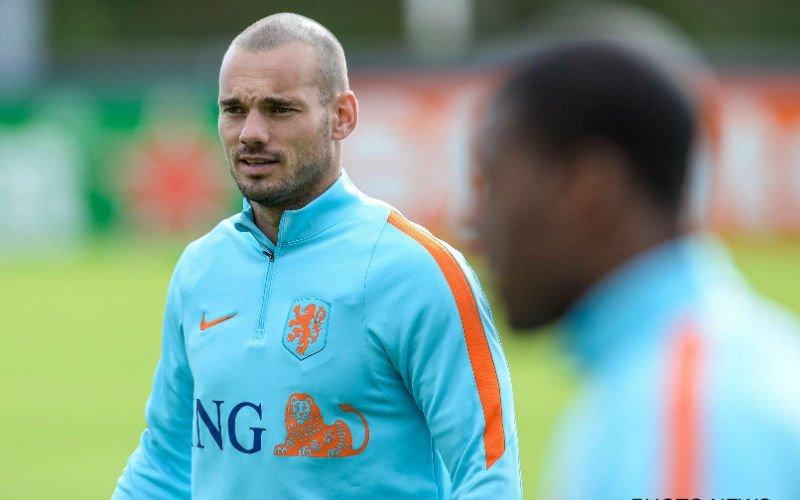 Kogel door de kerk: 'Sneijder tekent bij deze club'