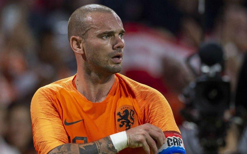 Nederland zet afscheidswedstrijd Sneijder kracht bij met zege