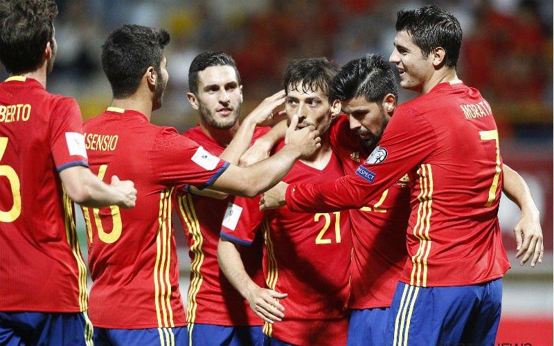 Spanje dreigt geschrapt te worden voor WK 2018