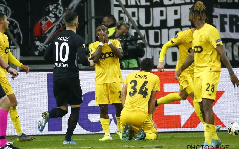 Standard nipt onderuit bij Eintracht Frankfurt