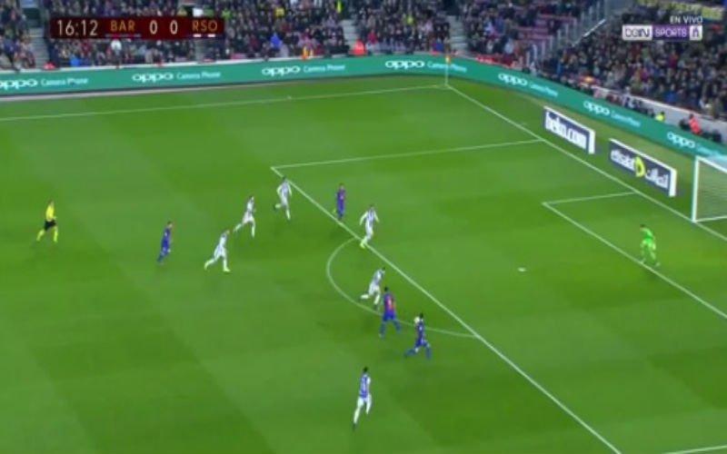 Barcelona scoort heerlijk doelpunt na prachtige assist van Suárez voor... Suárez (Video)