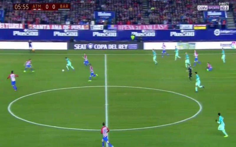 Suarez maakt Atlético Madrid-verdediging belachelijk met wonderbaarlijke solo en scoort (Video)