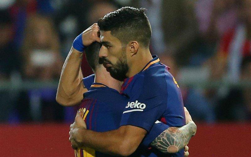Barcelona wint vlot en behoudt maximum