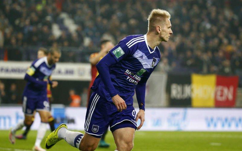 Anderlecht is razend op Lukasz Teodorczyk