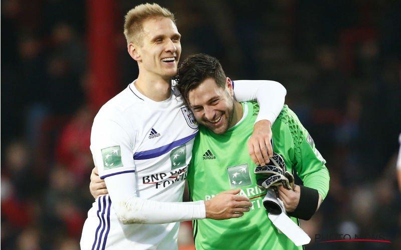 Frank Boeckx lacht meteen met zijn nieuwe concurrent bij Anderlecht