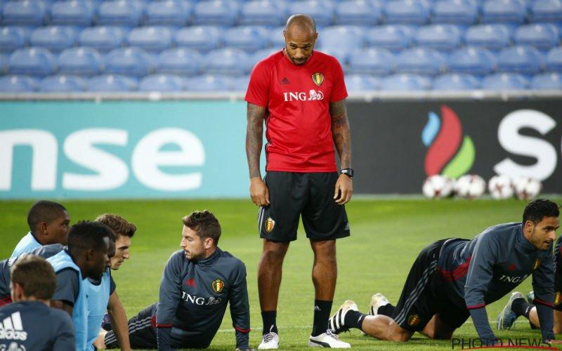 Vertrekt Thierry Henry al bij de Rode Duivels?