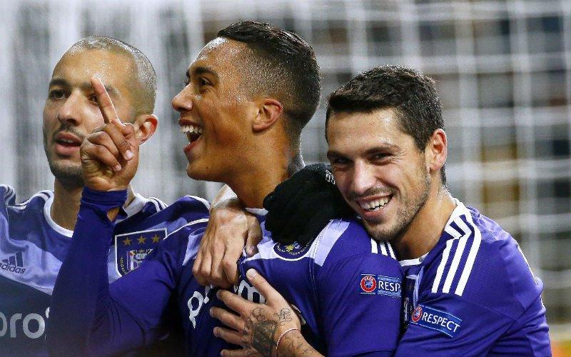 Anderlecht wint met monsterscore in Europa League