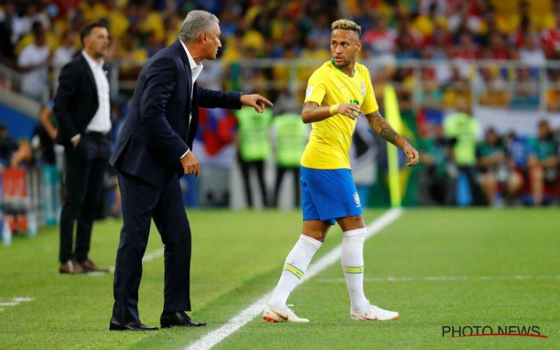 Tite verklapt: met dit elftal speelt Brazilië tegen Rode Duivels