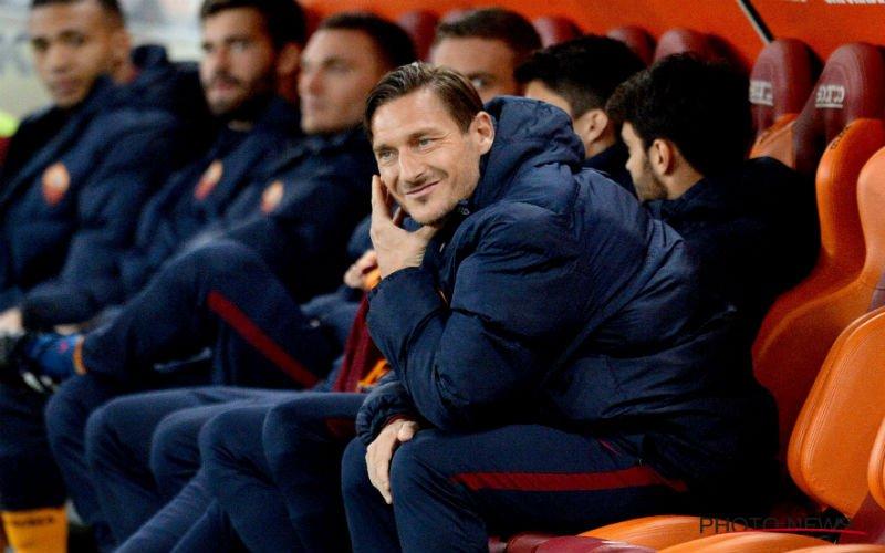 Legende Totti neemt zeer drastisch besluit