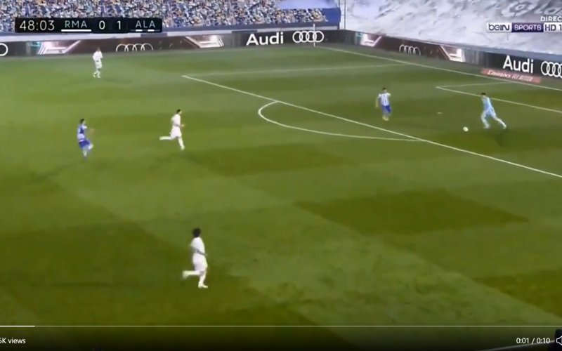 Opnieuw enorme flater van Thibaut Courtois (VIDEO)