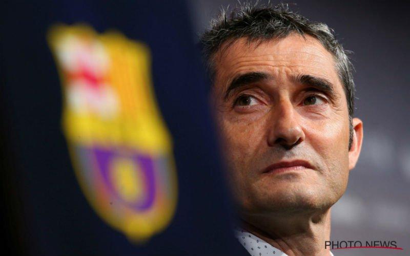 Valverde zet sterspeler verrassend op de bank bij Barcelona