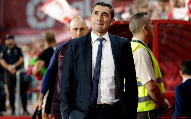 Officieel: Barcelona ontslaat Valverde en maakt meteen nieuwe trainer bekend