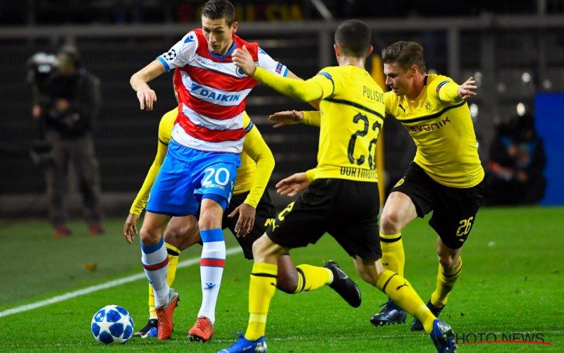 Club Brugge houdt stand tegen bleek Borussia Dortmund
