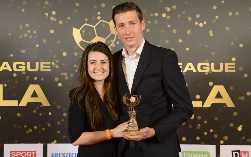 Vanaken en partner Lauren hebben uitstekend nieuws voor Club Brugge