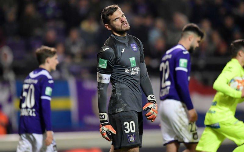 'Anderlecht weigert bekende doelman uit Jupiler Pro League'