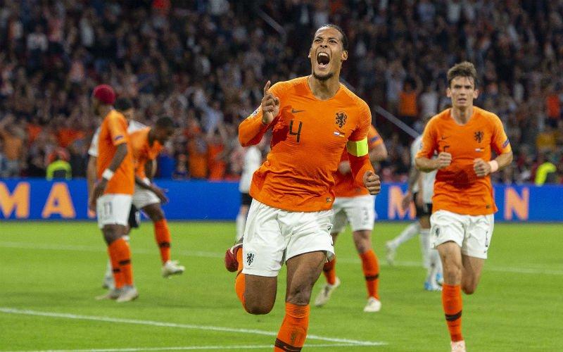 Oranje vernedert zwak Duitsland, Danjuma viert debuut