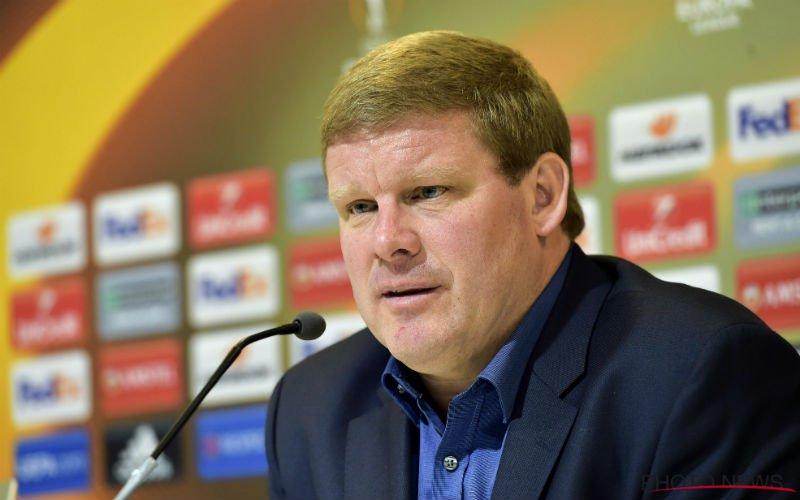 'Vanhaezebrouck liegt over Perbet'