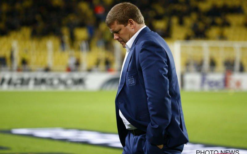 Vanhaezebrouck haalt weer uit naar Anderlecht-fans