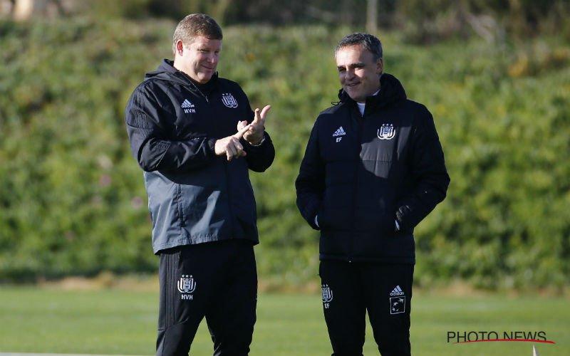 'Coach van Anderlecht stapt op'