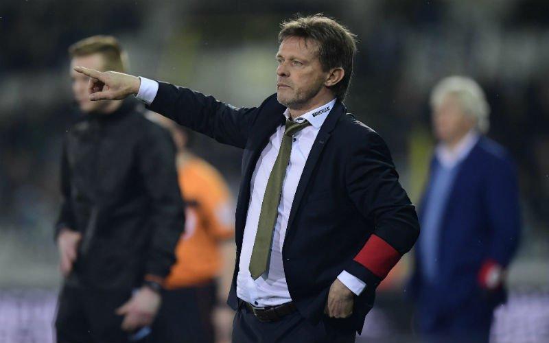 Vercauteren en Cercle Brugge hebben serieus probleem:
