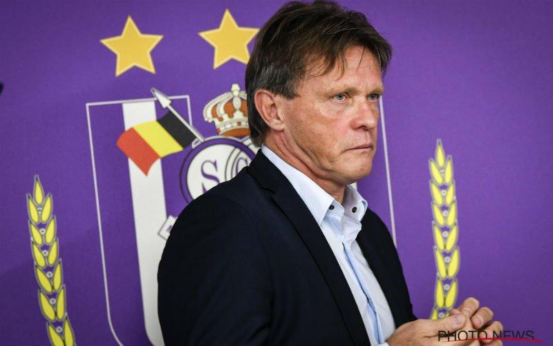 """Vercauteren over nieuwe spits voor Anderlecht: """"Híj kan ons iets bijbrengen"""""""
