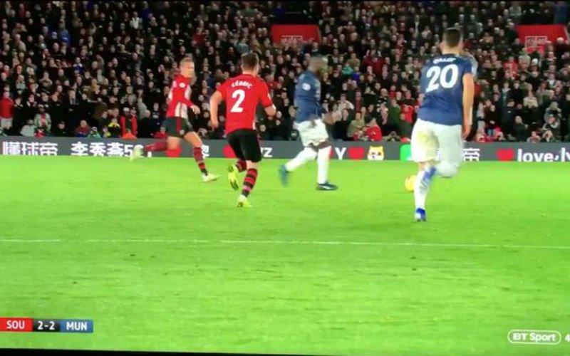 Na deze actie zijn Man United-fans hélemaal klaar met Lukaku (VIDEO)