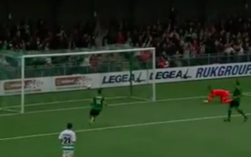 Wereldgoal in eerste voorronde Champions League (Video)