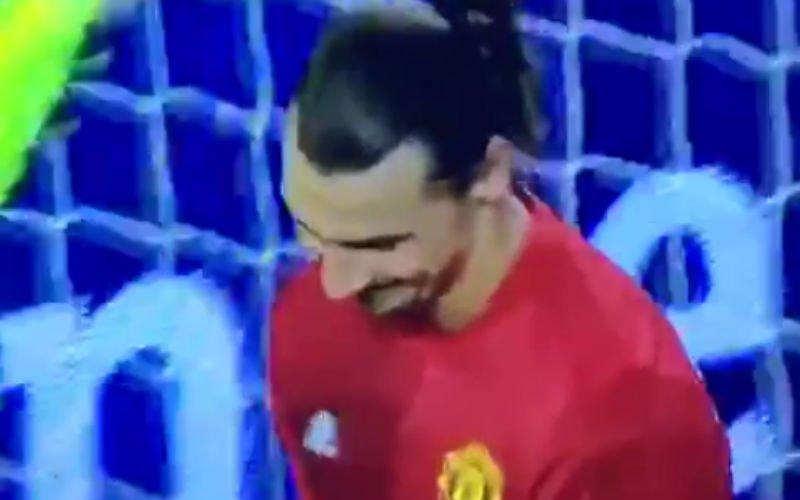 Wanneer Ibrahimovic plots Fernando Torres blijkt te zijn (Video)