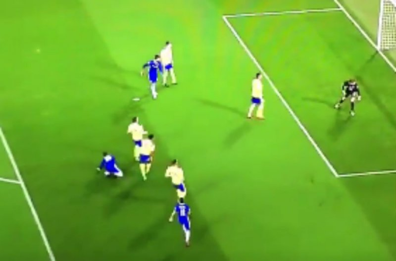 Hazard scoort schitterende goal (Video)