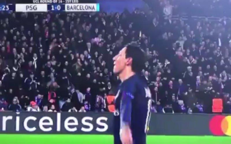 Di Maria scoort met heerlijke vrije trap, de muur van Barcelona is lachwekkend (Video)