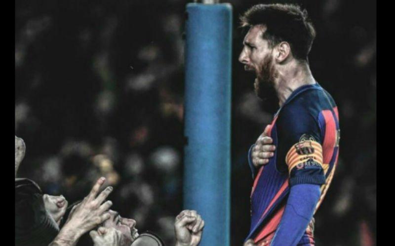 Kippenvel! Zo viert Messi meteen na het laatste fluitsignaal het mirakel (Video)