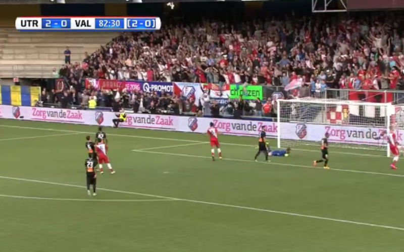 Utrecht scoort geweldige goal in Europa League (Video)