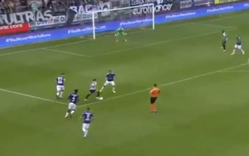 Benavente maakt Anderlecht compleet belachelijk met dit doelpunt (Video)