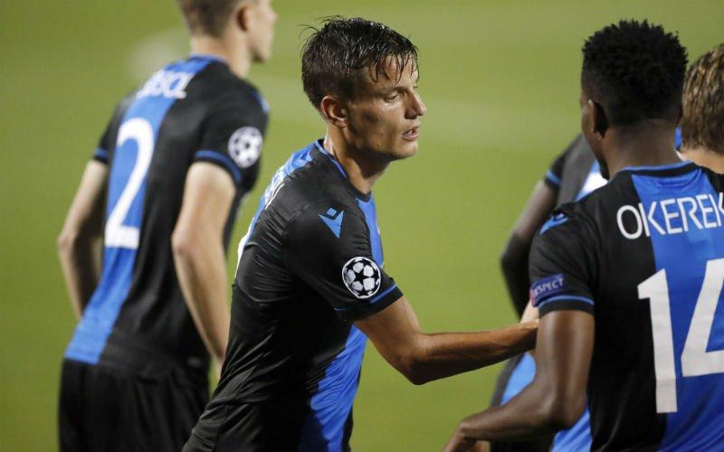Jelle Vossen helpt Club Brugge mee langs PSV met prachtig doelpunt