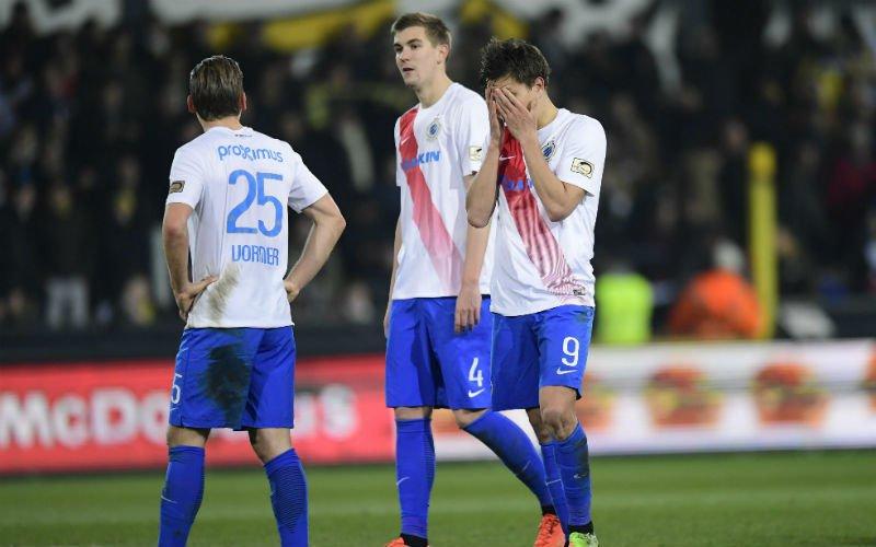Van Der Elst springt in de bres voor Club Brugge-pineut