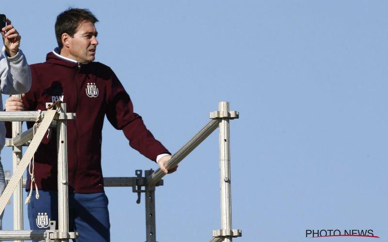 Weiler krijgt een stevige klap te verwerken bij Anderlecht