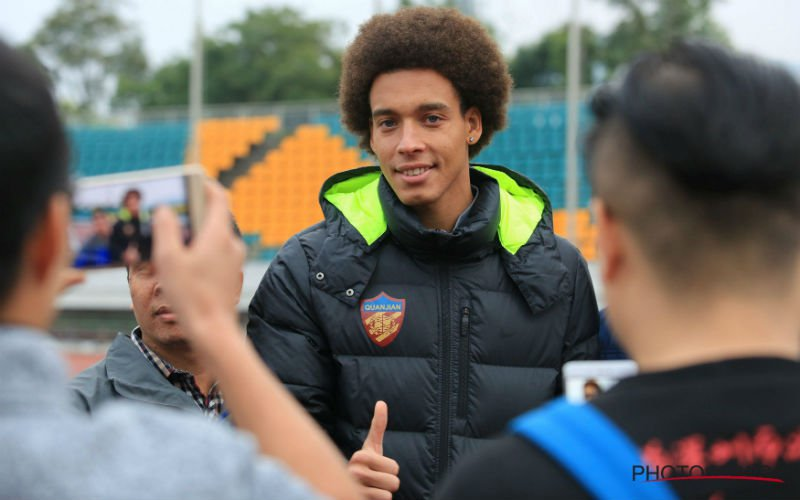 Axel Witsel onthult opvallend transfernieuws